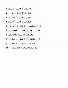 physical science balancing equations worksheet 13078 balancing chemical equations worksheet by seriously science tpt