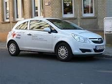 Opel Erfurt - opel corsa des drk erfurt am 20 10 2009 in erfurt