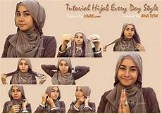 Tutorial Cara Pakai Jilbab Modern Yang Modis Dan Stylish