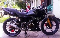 Modifikasi Suzuki Thunder Japstyle by Modifikasi Suzuki Thunder Japstyle Thecitycyclist