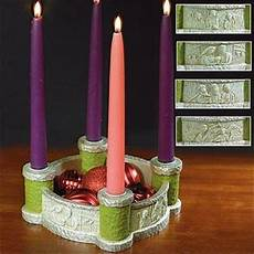 bethlehem advent candle holder centerpiece with
