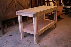 White Easy Workbench Diy Projects