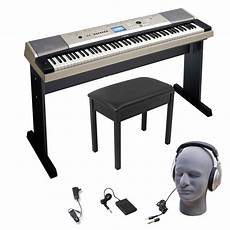 Yamaha Ypg535 88 Key Keyboard Bundle 859974004114 Ebay