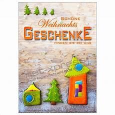 werbeplakat f 252 r geschenke zu weihnachten din a1 net