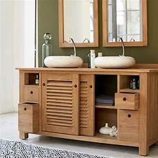 badmöbel aus holz waschtisch waschbeckenschrank badezimmer unterschrank