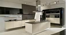 küchen mit insel bilder l form k 252 che mit insel schwarz wei 223