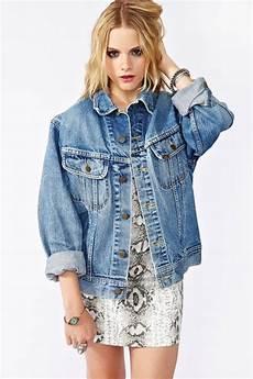 jacket oversized denim blue vintage wheretoget