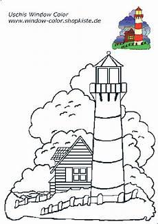 Window Color Malvorlagen Leuchtturm Leuchtturm Vorlagen