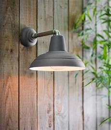 industrial dark grey canopy wall light ip44