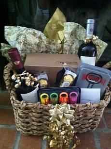 wine basket i made for a bridal sower diy gift baskets wine gift baskets wedding gift baskets
