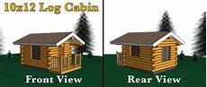 tiny house floor plans 10x12 bluebird 10x12 log cabin meadowlark log homes