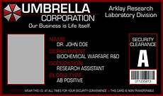 id card template inkscape umbrella corporation i d card template by apollolv on