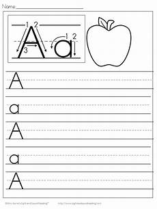 letter a writing worksheets for preschoolers 23682 350 free handwriting worksheets for file folder preschool writing