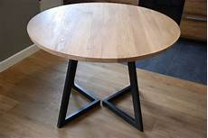 extendable table modern design steel and timber by