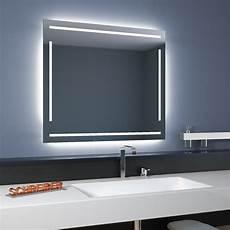 badspiegel linea led 4s moderne led len