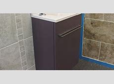 Cloackroom bathroom furniture   Bathroom Depot Leeds