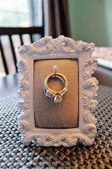diy ring holder frame ah ha this is what i can do for the kitchen or bathroom since i don t