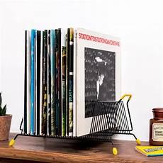 Rack Vintage M 233 Tal Noir Rangement Disques Vinyles