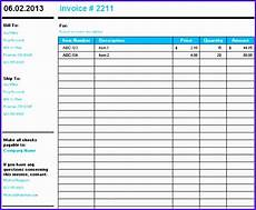 9 microsoft excel invoice template free download exceltemplates exceltemplates