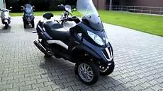 piaggio mp3 400 lt touring 11 roller scooter blau 2011