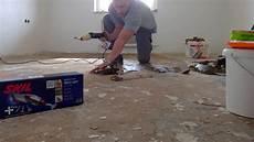 geklebten teppichboden entfernen linoleumkleber entfernen