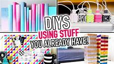 6 diys using stuff you already have around your house