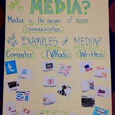media literacy anchor chart the littles pinterest