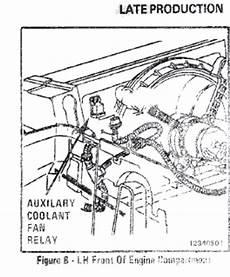 1988 c4 auxiliary cooling fan issue corvetteforum chevrolet corvette discussion
