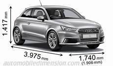 Audi A1 Sportback 2015 Dimensions Boot Space And Interior