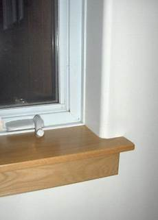 Drywall Bathroom Window by Oak Window Stool And Apron With Drywall Return To Window