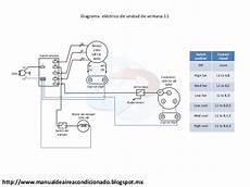 diagrama de aire de ventana airea condicionado manual de aire acondicionado manualesydiagramas com
