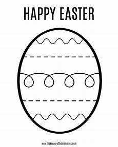 free printable easter coloring sheet for the