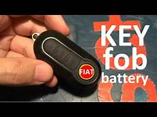 fiat 500 fiat ducato keyfob battery replacement