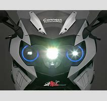 Bmw Motorrad Presents Concepts For Motorcycle Laser Light