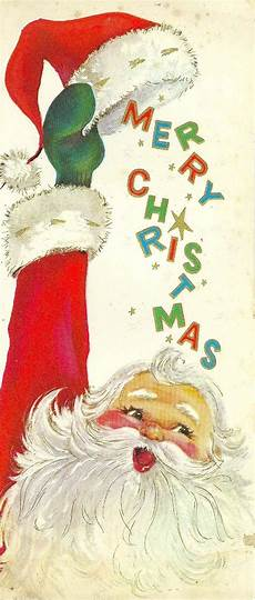 old fashioned merry christmas santa vintage christmas cards vintage christmas images
