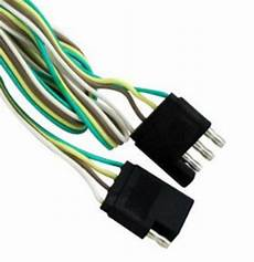 4 way 5 ft flat trailer light wire extension cord plug wire ebay