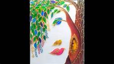 glass painting for beginners