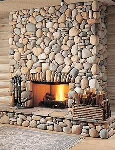 mortar less stones stone fireplaces in 2019 rustic fireplaces home fireplace river rock