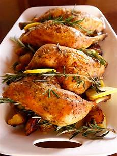 rosemary roasted chicken and potatoes healthy recipe