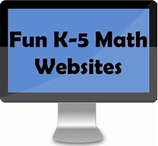 fun k 5 math websites k tutoring blog