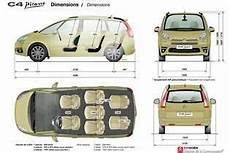 Dimensions Grand C4 Picasso