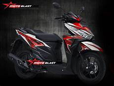 Striping Vario 125 Modif by Modifikasi Motor Matic Terbaru Striping Honda Vario 150