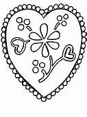 Flower1 Flowers Coloring Pages Page & Book For Kids