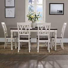 beachcrest home tanner 7 piece dining set reviews wayfair