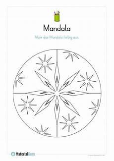 Vorschule Malvorlagen Text Ausmalbild Mandala 01 Mandalas Zum Ausmalen R 228 Tsel F 252 R