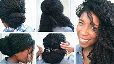 quick back to school and office hairstyles for curly hair natural hair youtube