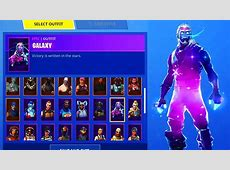 So I Unlocked The Galaxy Skin In Fortnite .   YouTube