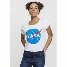 shirt femme t shirt femme nasa insignia blanc achat et prix pas cher