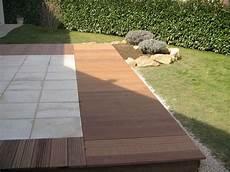 terrasse carrelage suspendu mailleraye fr jardin