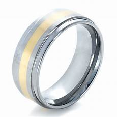 men s two tone tungsten ring 1359